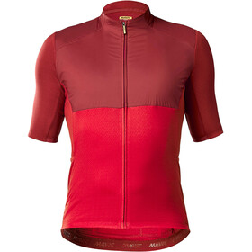 Mavic Allroad Wind Jersey Heren, red dahlia